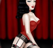 Burlesque Sticker