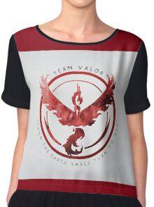 Team Valor - Pokemon Go Chiffon Top