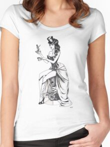 Burlesque circus Women's Fitted Scoop T-Shirt