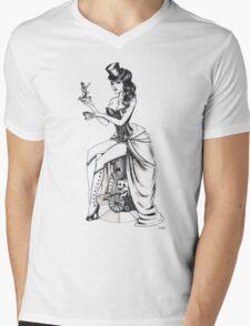 Burlesque circus Mens V-Neck T-Shirt
