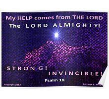 GOD IS YOUR INVINCIBLE HELP! Poster