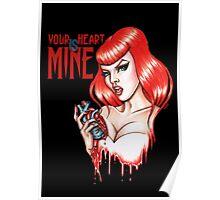 Posessed Valentine Poster