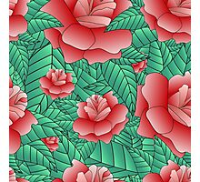 Beautiful Rose, floral pattern. Photographic Print