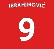 Zlatan Ibrahimovic Man Utd number and name t-shirt Unisex T-Shirt