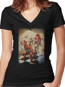 Eve Women's Fitted V-Neck T-Shirt