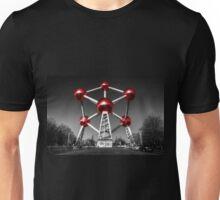 Red Atomium part deux Unisex T-Shirt