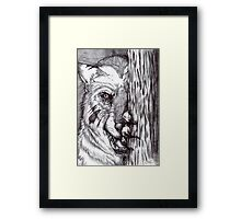 Lycan - The Wait Framed Print