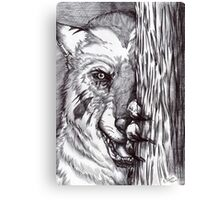 Lycan - The Wait Canvas Print