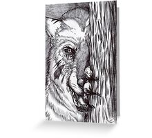 Lycan - The Wait Greeting Card