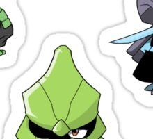 Caterpie, Metapod, and Butterfree Sticker