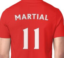 Anthony Martial Man Utd number and name t-shirt Unisex T-Shirt