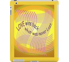 *Love Wins Back* iPad Case/Skin