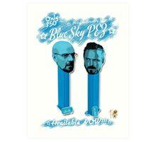 Blue Sky Pez! Art Print