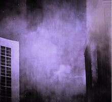 Urban blues rain purple hues by stefanie le pape