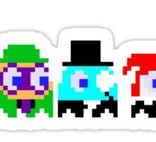 BatPacman & Villains Sticker