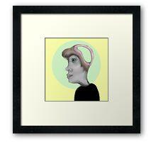 Brainless Framed Print