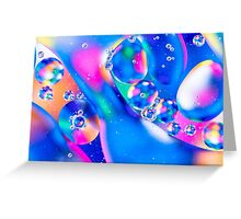 Oil & Water 5 Greeting Card