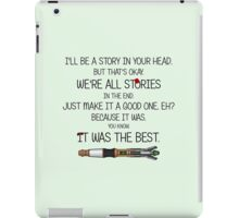 We're all just Stories iPad Case/Skin