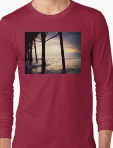 """""""Oceanside - Late Afternoon""""  Long Sleeve T-Shirt"""