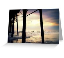 """""""Oceanside - Late Afternoon""""  Greeting Card"""