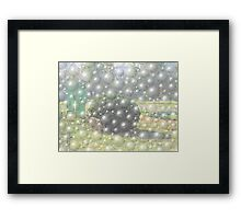 Bush ball Framed Print