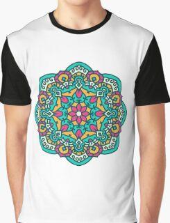 Mandala - Circle Ethnic Ornament Graphic T-Shirt