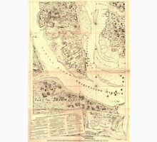 Vintage Map of Charleston South Carolina (1780) Unisex T-Shirt