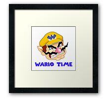 Wario Time! Framed Print