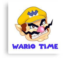 Wario Time! Canvas Print