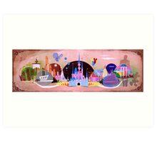 The Magic Kingdom Art Print