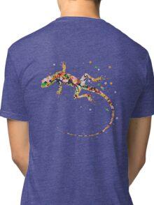 Rainbow Lizard  Tri-blend T-Shirt