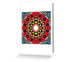 Falling in the berries' field Greeting Card