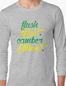 flush offset camber fitment (2) Long Sleeve T-Shirt