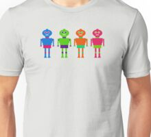 Colourful Robots Unisex T-Shirt