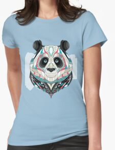 ethnic panda Womens Fitted T-Shirt