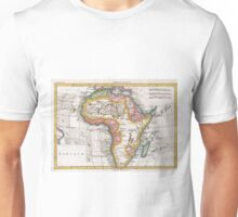 Vintage Map of Africa (1780) Unisex T-Shirt