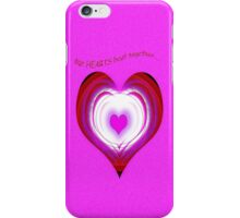 Our Hearts Beat Together iPhone Case/Skin