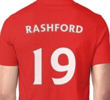 Marcus Rashford Man Utd number and name t-shirt Unisex T-Shirt