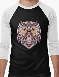 ethnic owl Men's Baseball ¾ T-Shirt