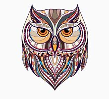 ethnic owl Womens Fitted T-Shirt