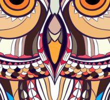 ethnic owl Sticker