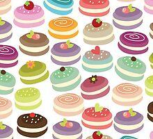 Cute French Macarons by GirlyGirl
