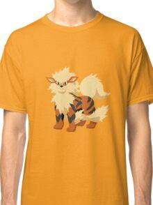 Arcanine Pokemon Simple No Borders Classic T-Shirt