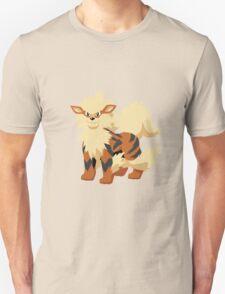 Arcanine Pokemon Simple No Borders Unisex T-Shirt