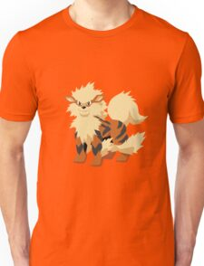 Arcanine Pokemon Simple No Borders Unisex T-Shirt