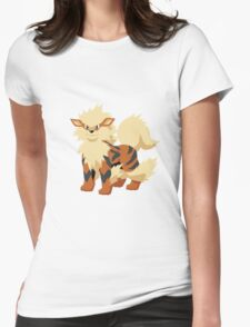 Arcanine Pokemon Simple No Borders Womens Fitted T-Shirt
