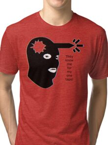 The Know Me For My One Taps! Tri-blend T-Shirt