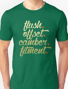 flush offset camber fitment (6) T-Shirt