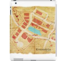 Alexandria Scout Report Map iPad Case/Skin