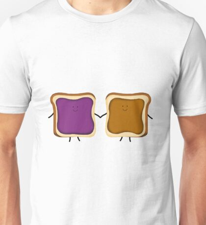 Peanut Butter & Jelly Friends Unisex T-Shirt